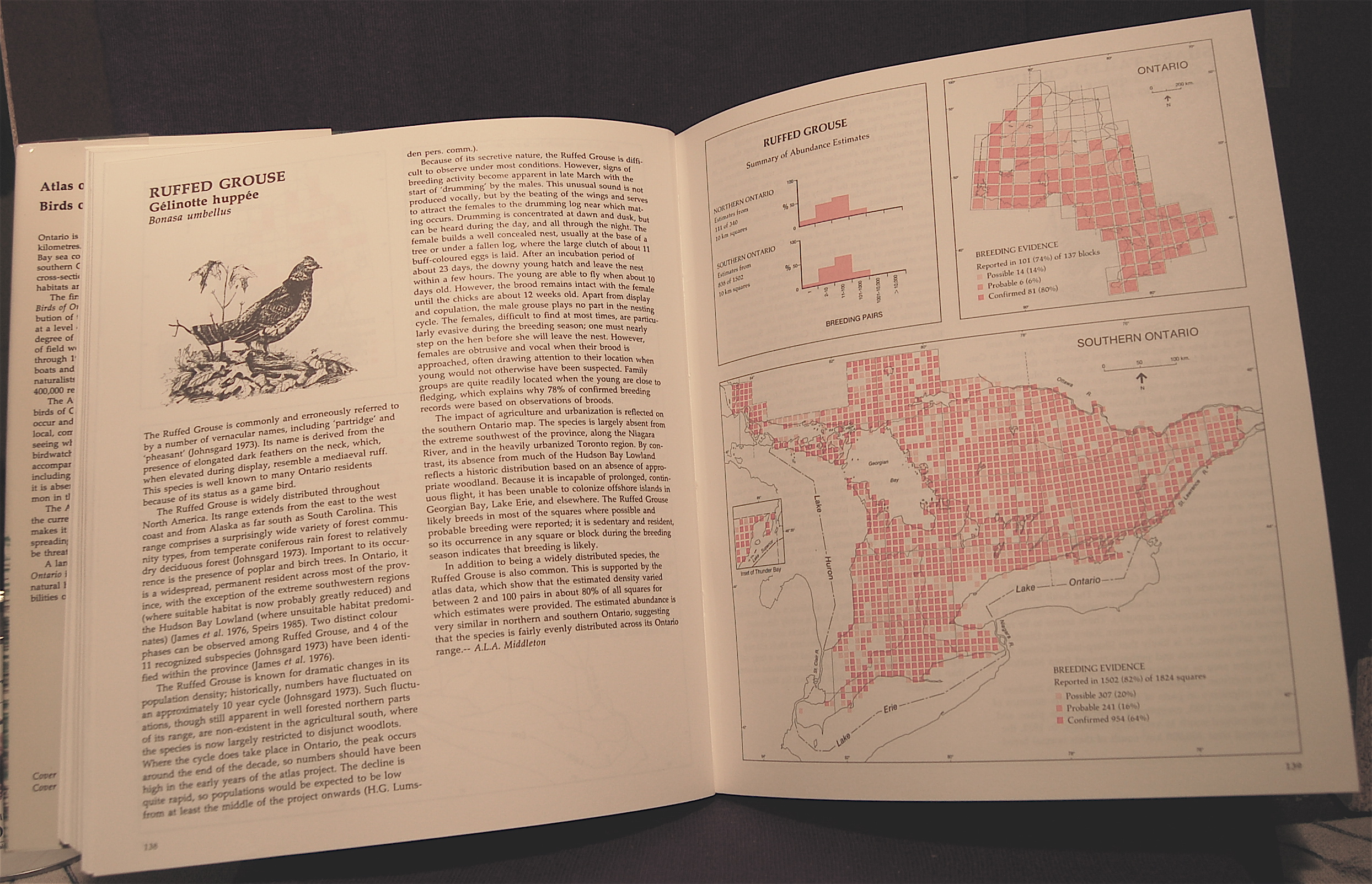Atlas of the Breeding Birds of Ontario