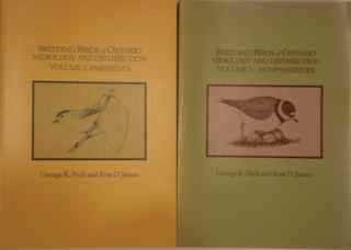 Breeding Birds of Ontario Nidiology and Distribu...