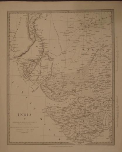 Map. India V.
