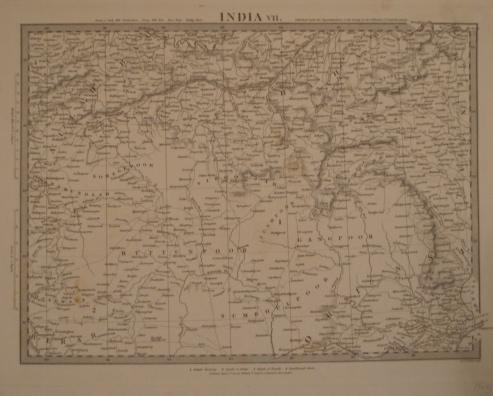 Map. India VII.