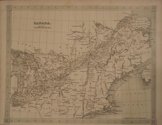Map. Canada