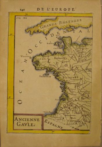 Map. Ancienne Gaule.