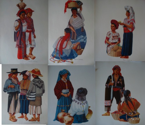 Trajes de Guatemala, Tomo 1 y Tomo 2.