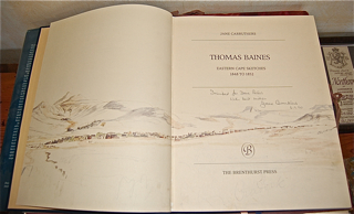 Thomas Baines Eastern Cape Sketches 1848 to 1852...
