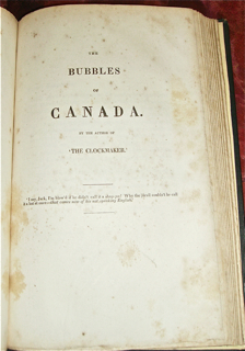 The Letter-Bag of the Great Western; or Life in a Steamer BOUND WITH The Bubbles of Canada.