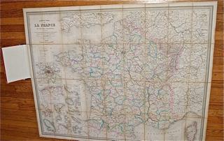 Nouvelle Carte de La France et de Ses Colonies i...