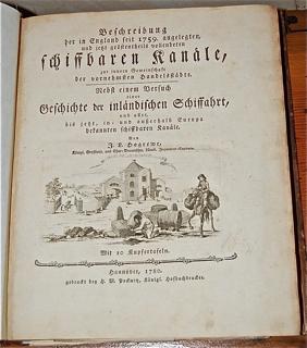 Beschreibung der in England seit 1759. angelegte...