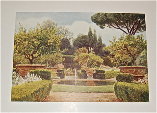 Italian Gardens after Drawings by George S. Elgood, R. I. with Notes by the Artist.