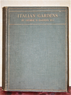 Italian Gardens after Drawings by George S. Elgo...