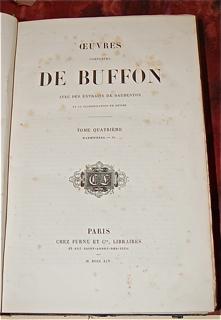 Oeuvres Completes de Buffon avec des Extraits de...
