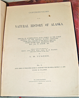 Contributions to the Natural History of Alaska....