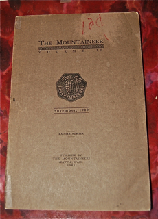 The Mountaineer, Volume II. Mount RainierNumber.