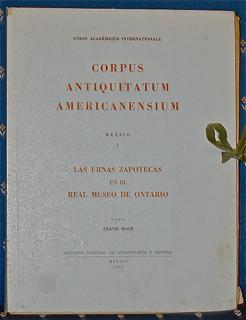 Corpus Antiquitatem Americanensium. Mexico I: La...