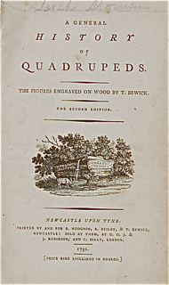 A General History of Quadrupeds. The Figures Eng...