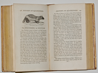 A General History of Quadrupeds. The Figures Engraved on Wood by T. Bewick