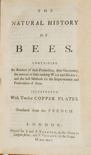 The Natural History of Bees. An Account of their...