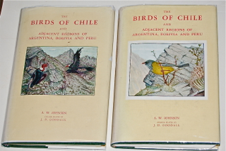 The Birds of Chile and of the Adjacent Regions of Argentina, Bolivia and Peru.