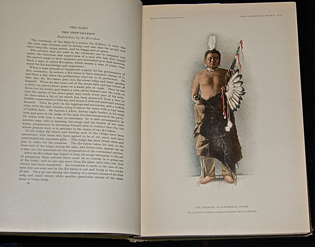 The Hako: A Pawnee Ceremony. 22nd Annual Report of the Bureau of American Ethnology.