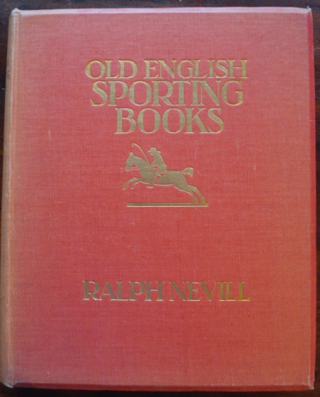 Old English Sporting Books