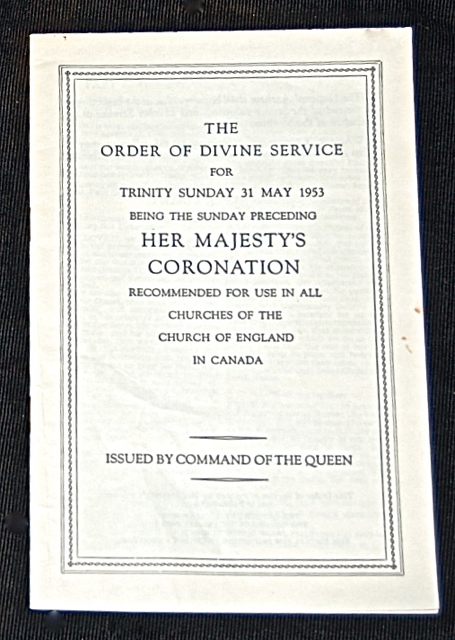 [Coronation] The Order of Divine Service for Tri...