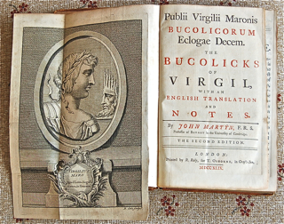 The Bucolicks of Virgil with an English Translat...