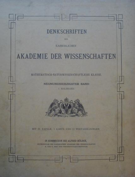 Ergebnisse der Botanischen Expedition der Kaiser...