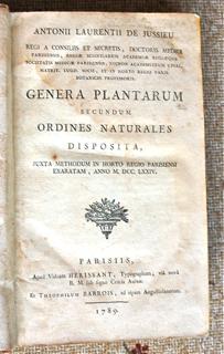 Genera Plantarum secundum ordines naturales disp...