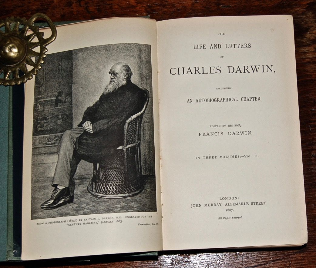 The Life and Letters of Charles Darwin, Including an Autobiographical Chapter.