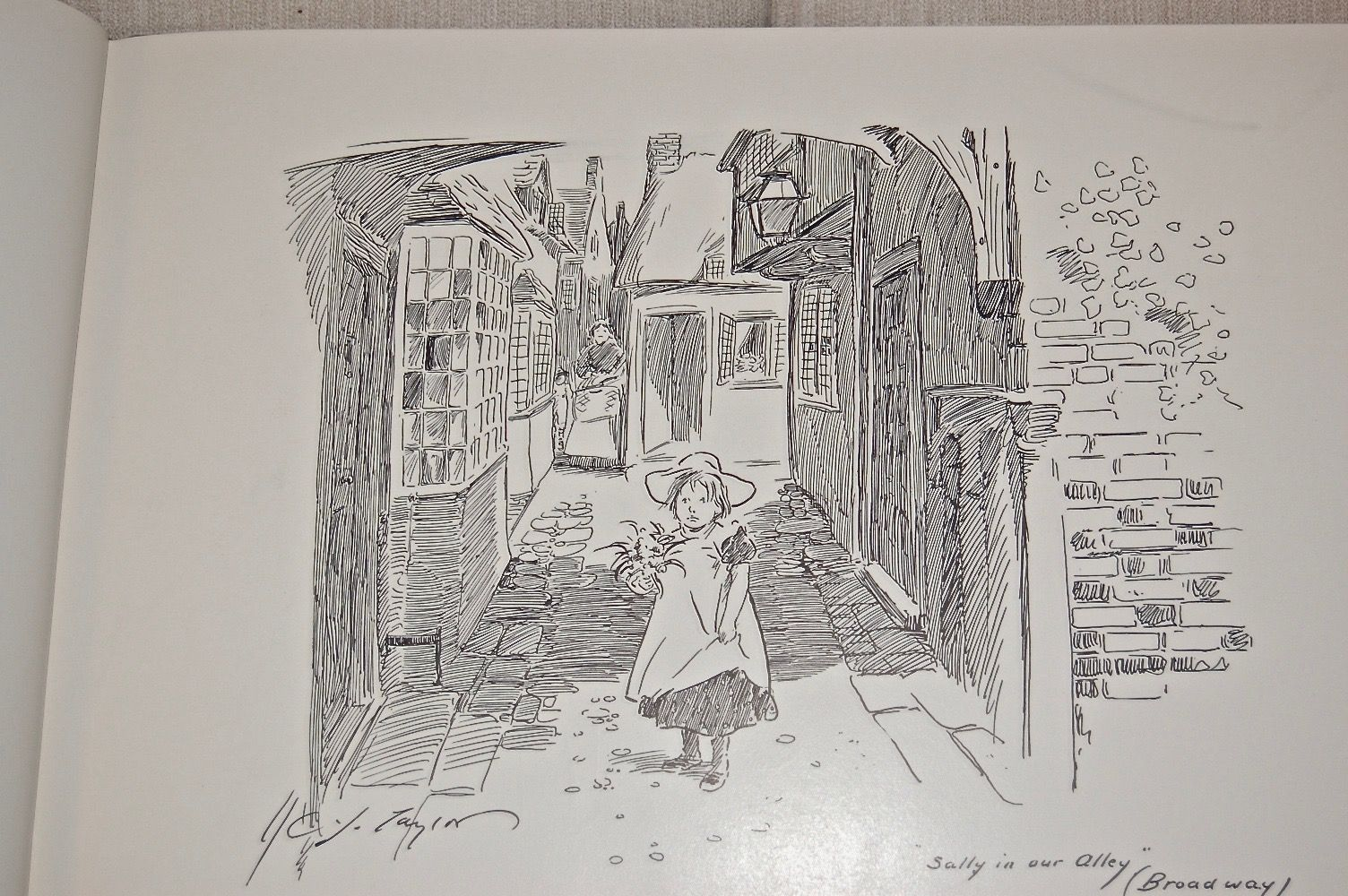 England: Pen and Ink Drawings