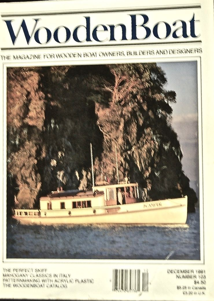 The Wooden Boat. The Magazine for Wooden Boat Owners, Builders and Designers.