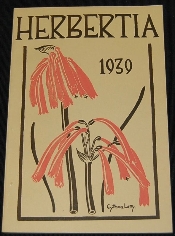 Herbertia [and] Plant Life [and] Yearbook of the American Amarylis Society (1936- 1998).