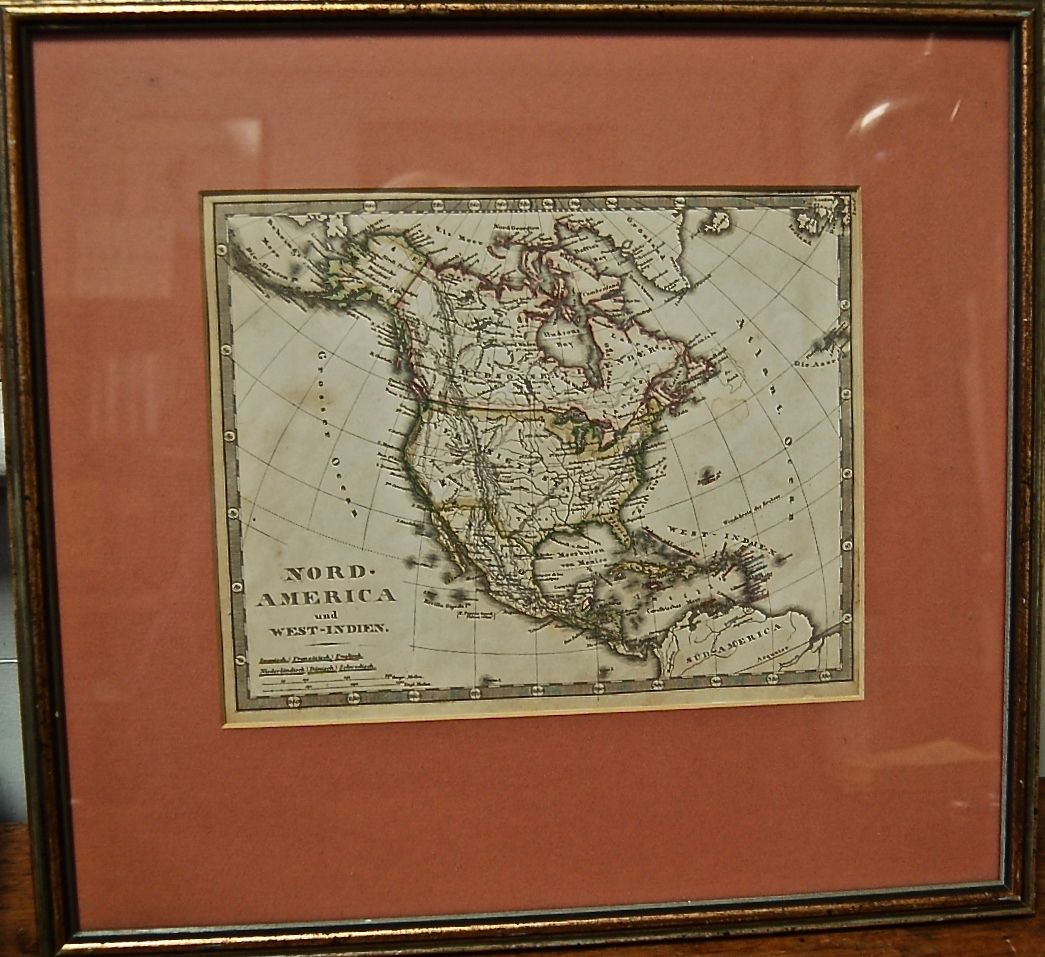 Map. Nord-America und West-Indien.