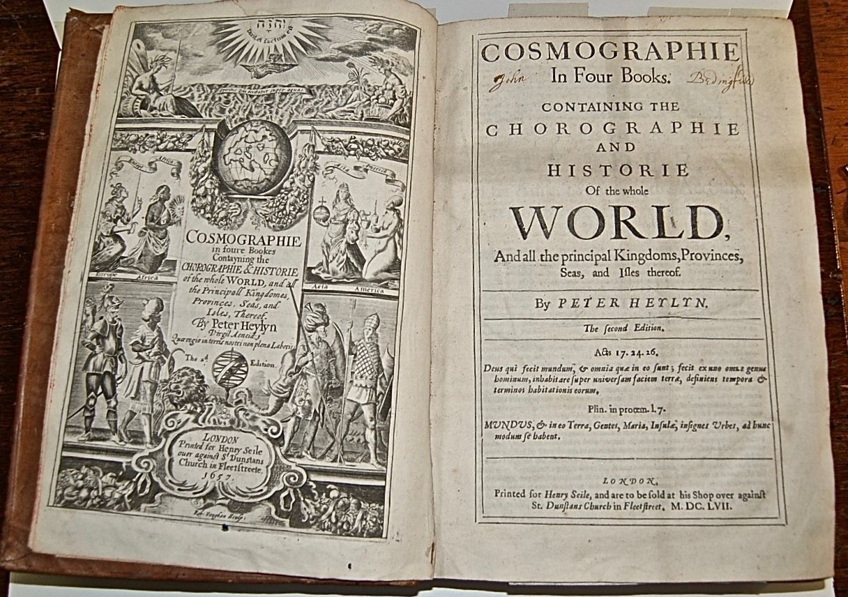 Chorographie and Historie of the Whole World. And all the principal Kingdoms, Provinces, and Seas, and Isles thereof.