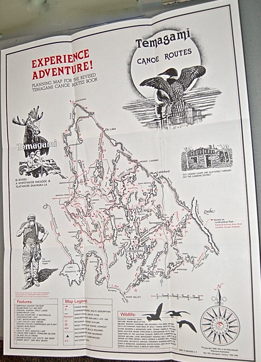 Temagami Canoe Routes