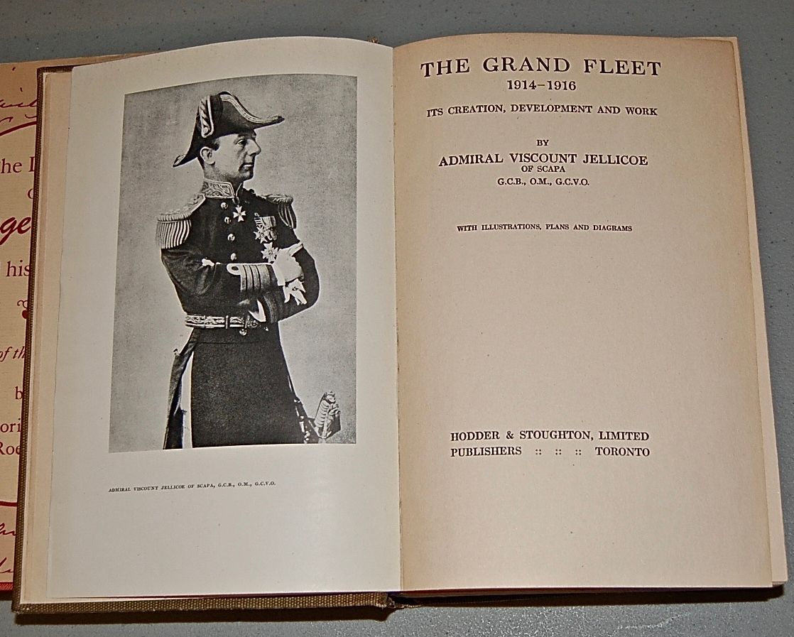 The Grand Fleet 1914- 1916 Its Creation, Development and Work.