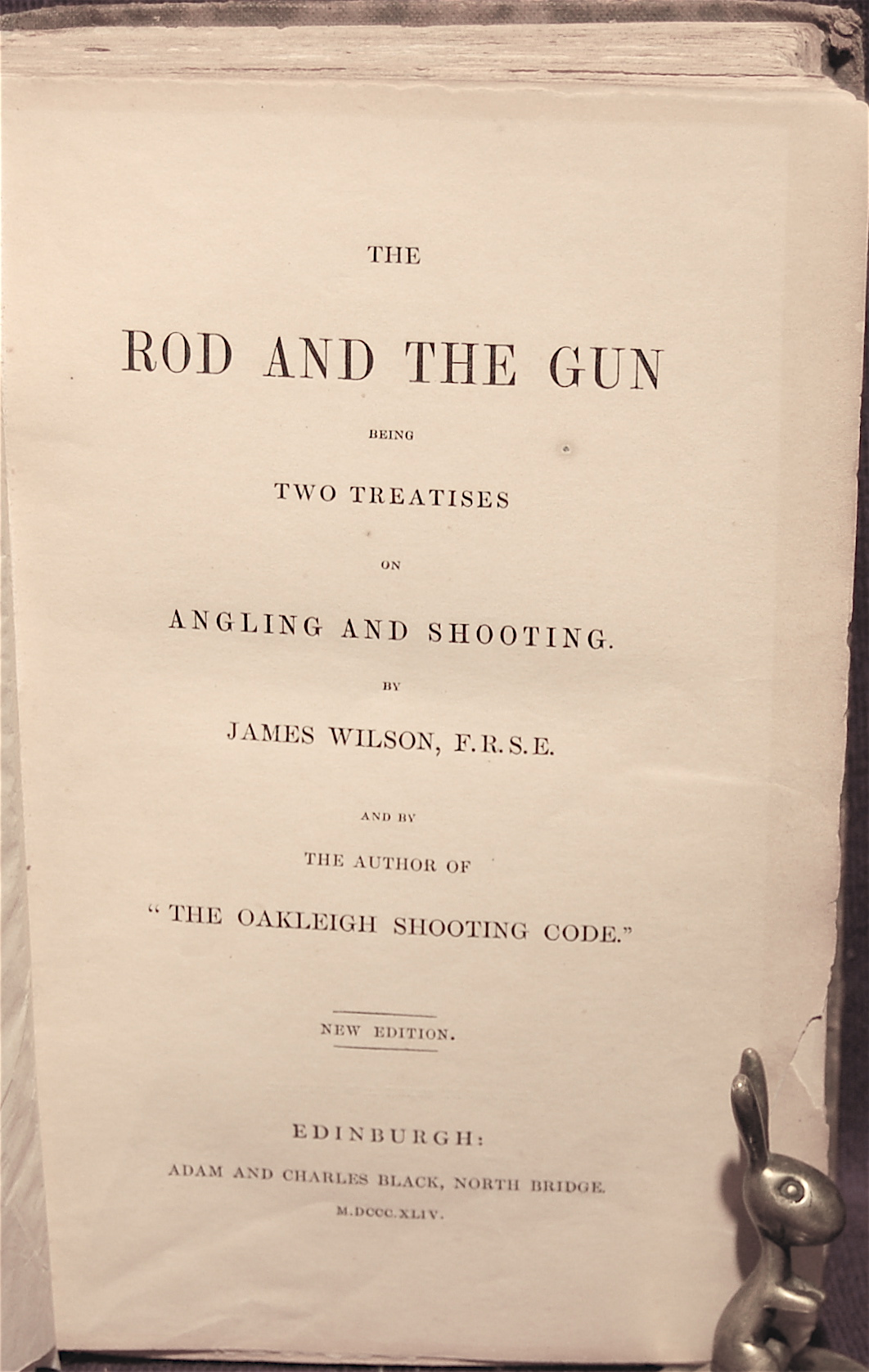 The Rod and the Gun, Being Two Treatises on Angling and Shooting