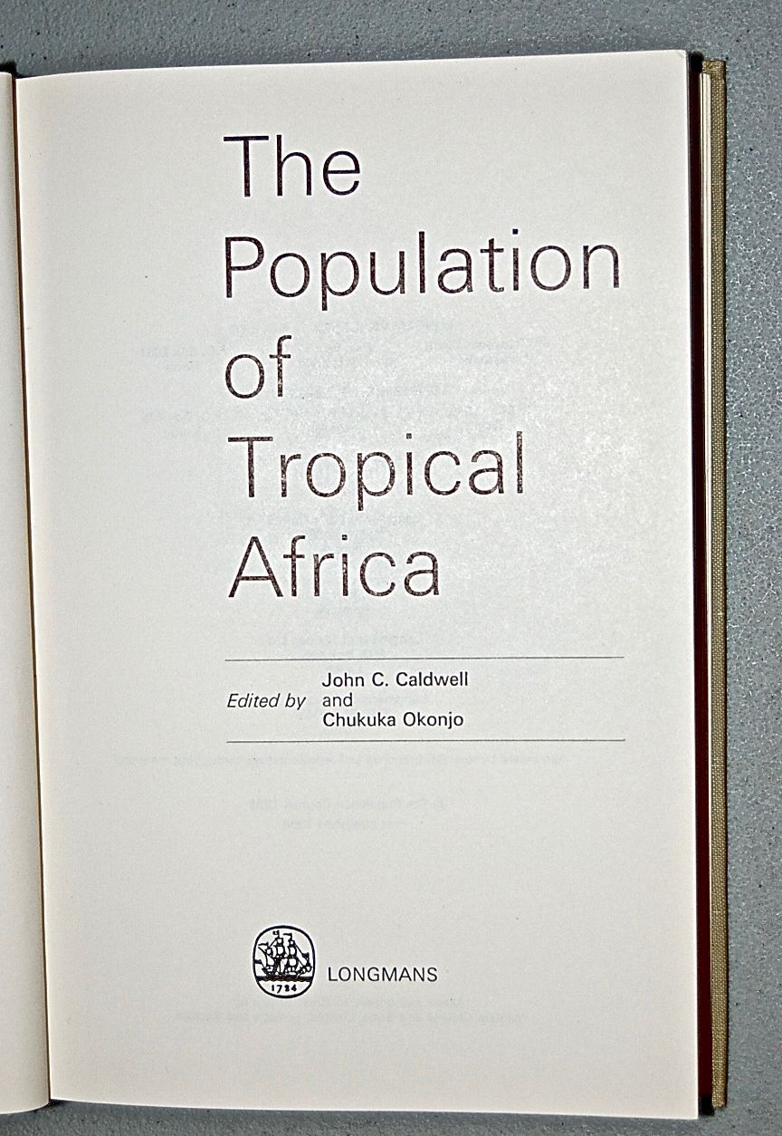 The Population of Tropical Africa