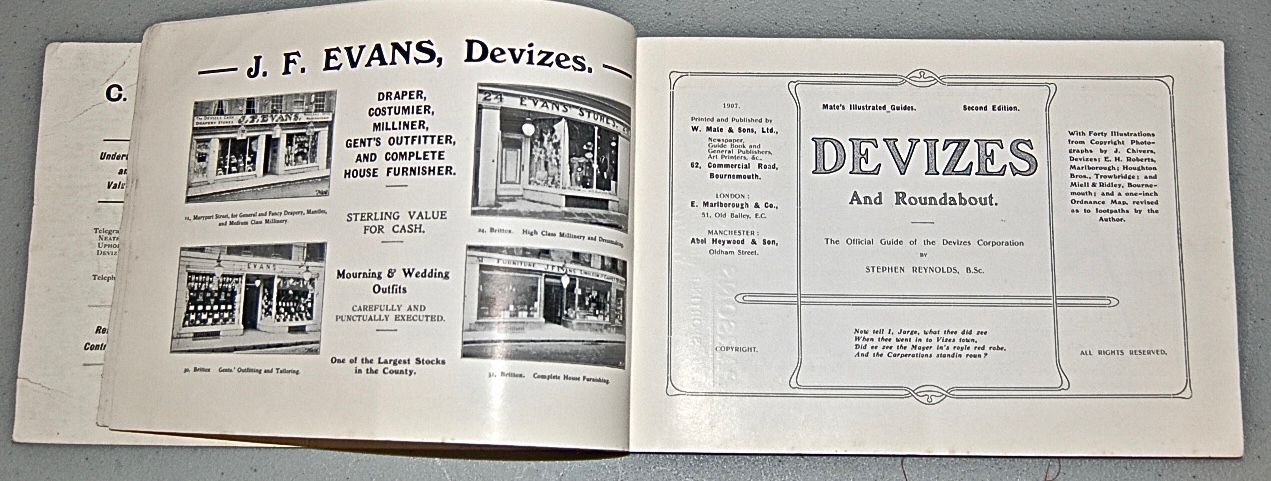 Devizes and Roundabout. Official Guide of the Devizes Town Council.