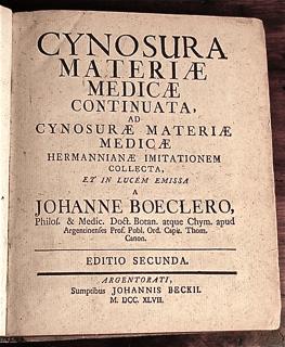 Cynosura Materiae Medicae, ad Cynosura Medicae H...