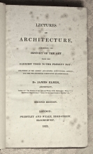 Lectures on Architecture, Comprising the History...