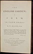 The English Garden: a Poem. In Four Books.