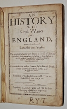 An History of the Civil VVarres of England, Bet...