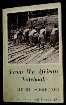 From My African Notebook